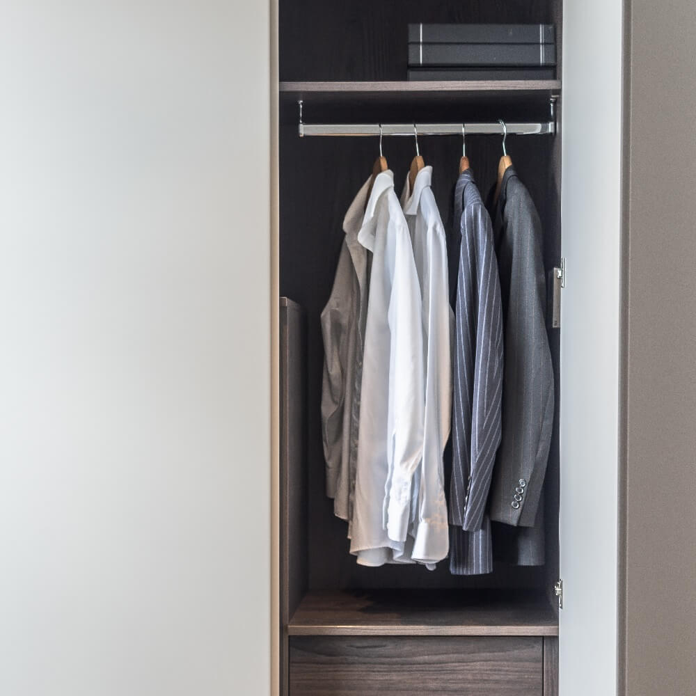 Made to measure fitted wardrobe
