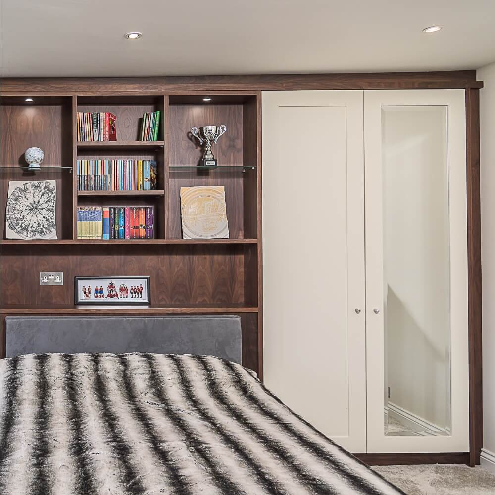 Fitted Shaker style fitted wardrobe