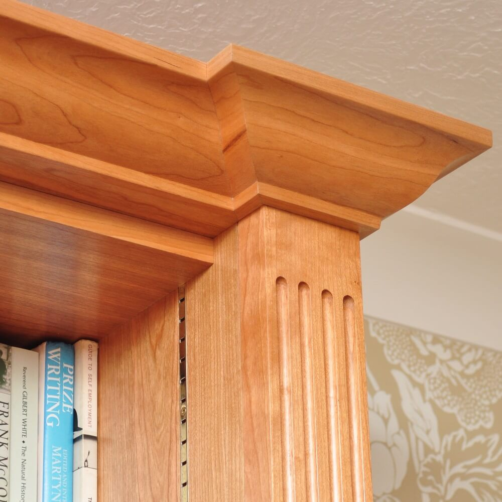 Detailed features using traditional craftsmanship