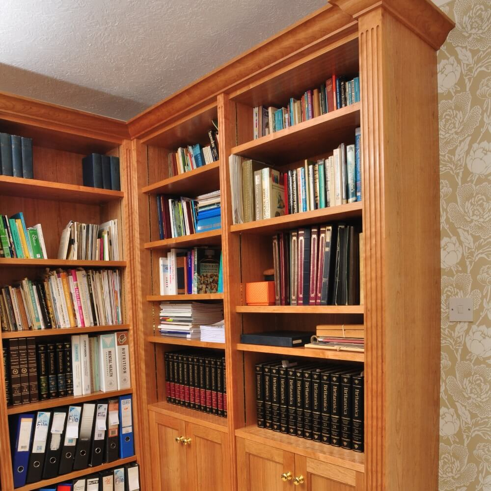 Handcrafted bookcase and display unit