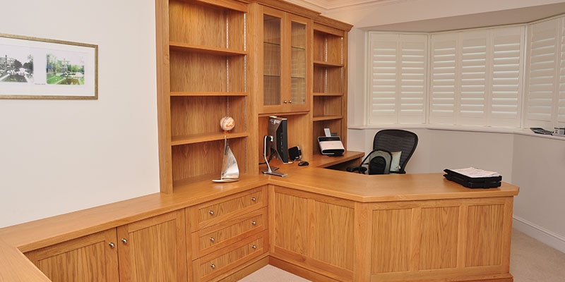 Bespoke home study furniture